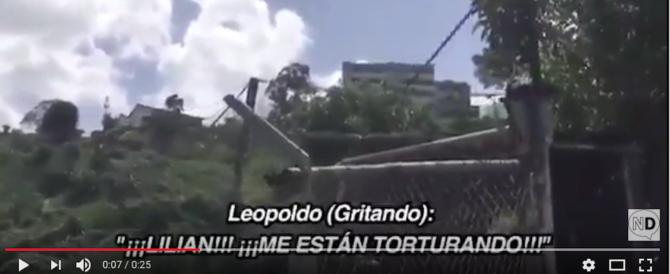 Venezuela, «Mi stanno torturando»: l'urlo disperato del nemico di Maduro (video)