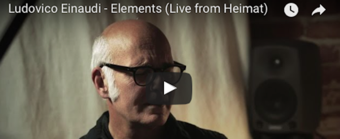 "Ludovico Einaudi con ""Elements"" fa sold out alle Terme di Caracalla (video)"