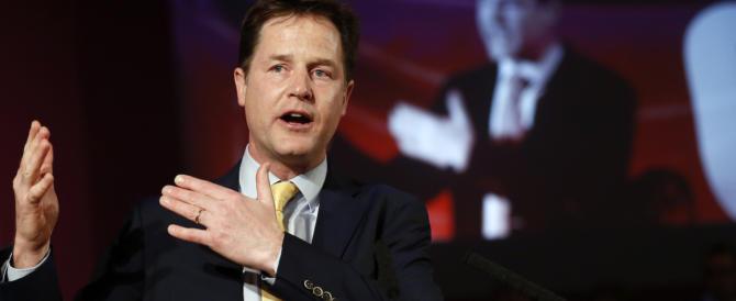 """Regno Unito, """"cadaveri eccellenti"""" a Westminster: anche Clegg è fuori"""