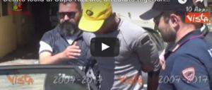 Le immagini di Rambo, il nigeriano torturatore e stupratore di migranti (video)