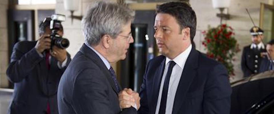 """""""Matteo stai sereno"""": Gentiloni vuole far fuori Renzi. Lo svela Prodi…"""
