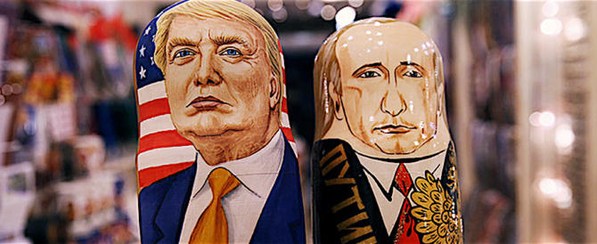 """Un'altra """"fake new""""? L'immagine di Trump peggiora, ma non in Russia"""