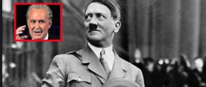 Santoro torna in tv con Hitler, tra slogan, perversioni sessuali e carisma