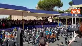 2 giugno, i sindaci delle zone terremotate hanno aperto la sfilata (video)