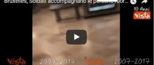 Torna la paura a Bruxelles: freddato kamikaze alla Stazione centrale (I VIDEO)