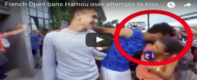 Molesta una giornalista in diretta, tennista cacciato dal Roland Garros (video)