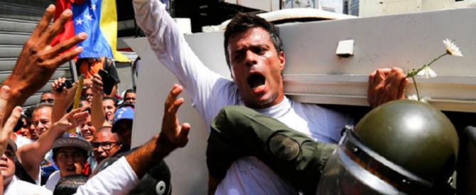 Venezuela, leader di opposizione dalle carceri chiama l'esercito alla rivolta