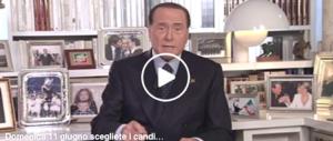 """«Spero manchi poco alle politiche»: Berlusconi """"chiama"""" il voto ancitipato (video)"""