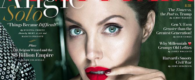 Angelina Jolie si confessa: «La paresi mi aveva deturpato il viso, così mi sono salvata…»