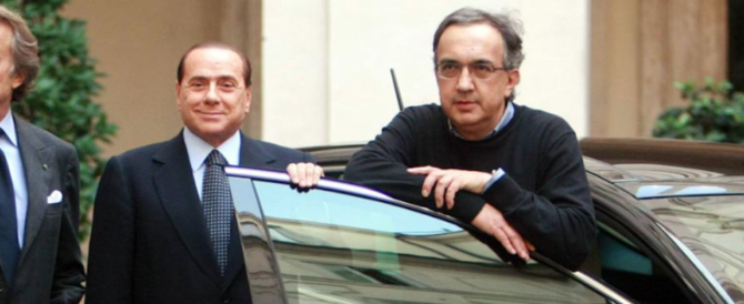 """Marchionne dice no a Berlusconi: """"Io leader? Non ci penso per niente"""""""
