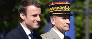 Macron, prima crepa: si dimette il capo dell'esercito. Le Pen: «Deriva grave»