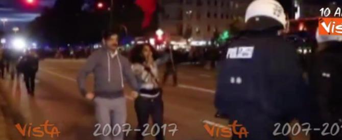 """G20 """"blindato"""": ecco come reagisce la polizia tedesca a un provocatore (video)"""