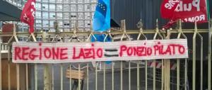 Lazio Ambiente: in 400 rischiano il posto. Zingaretti se ne lava le mani