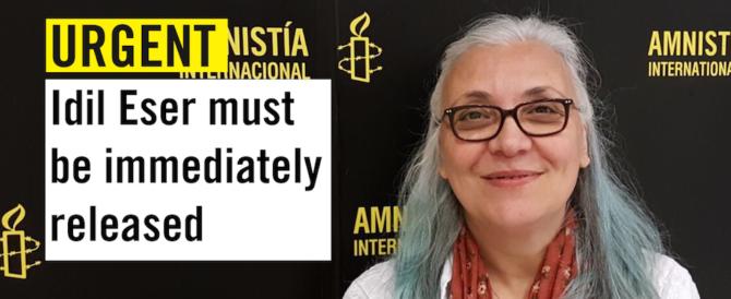 Turchia, carcere confermato per la direttrice di Amnesty international