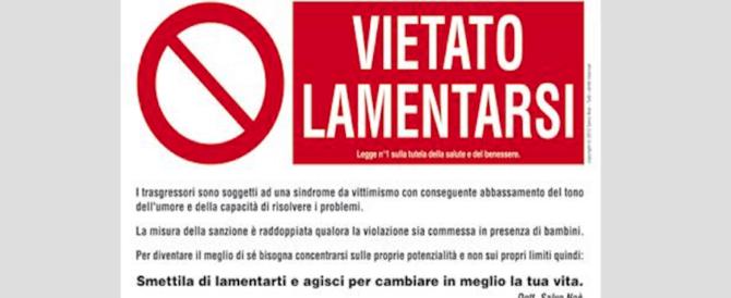 """""""Vietato lamentarsi"""": il cartello di Papa Francesco fa tremare il Vaticano…"""