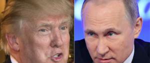 Trump: «Con Putin solo quattro chiacchiere al bar. Non più di 15 minuti»