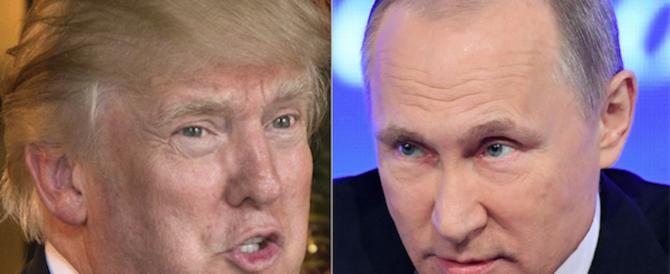 """Trump: """"Con Putin ho parlato di una nuova unità di cybersicurezza"""""""