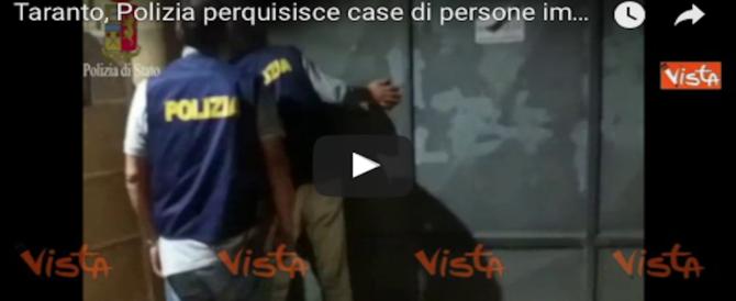 Taranto, blitz della polizia contro clan mafioso: 27 arresti. Coinvolti 2 sindaci (2 VIDEO)