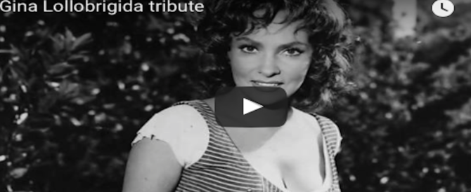 La Lollobrigida compie 90 anni, auguri all'indomita Bersagliera divenuta una diva (VIDEO)