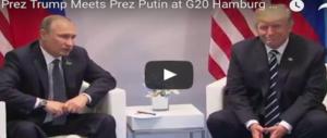 G20, Trump vince la sfida di Amburgo: è intesa perfetta con la Merkel e Putin (VIDEO)