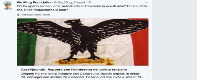 """Delirio antifascista su Twitter: c'è la lista dei """"compagni"""" colpevoli di dialogare con i """"neri"""""""