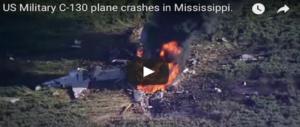 Mississippi, si schianta aereo militare: morti i 16 marines a bordo (2VIDEO)