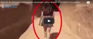 Modella saudita in minigonna sfida le autorità e accende il web (video)