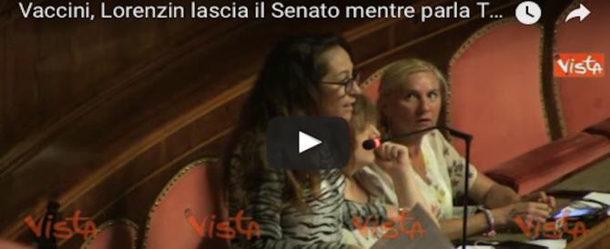 La grillina Taverna al Senato litiga con la Lorenzin. E pure con i congiuntivi (VIDEO)