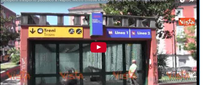 Sciopero bus e metro, disagi e caos nelle città: taxi introvabili (video)