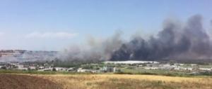 Termoli, incendio alla Fiat: evacuata la fabbrica. Circolazione in tilt sulla A14