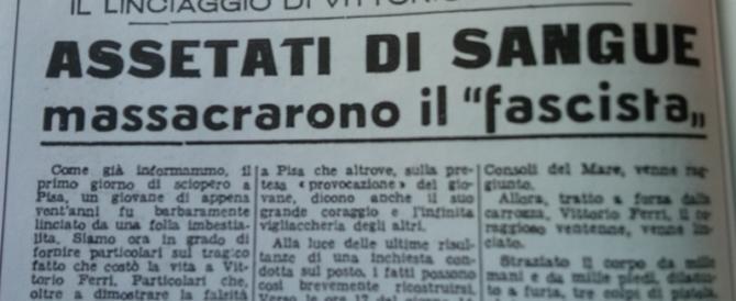 L'attentato a Togliatti 69 anni fa: il capo del Pci si salvò, a Pisa primo missino ucciso