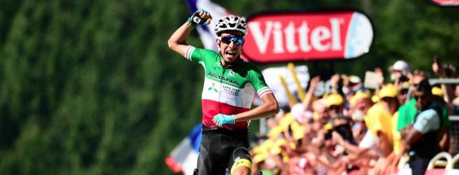 Tour de France: Fabio Aru in maglia gialla. E Renzi già mette il cappello sulla vittoria