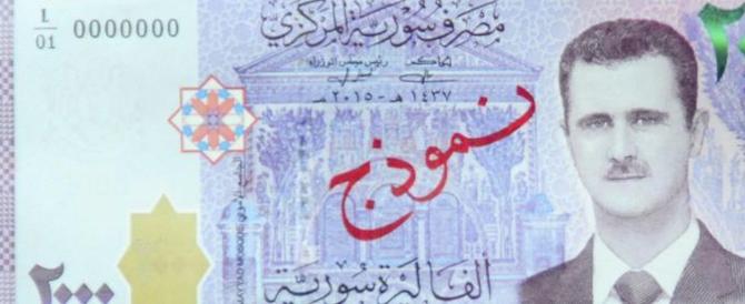 Siria, Assad rompe gli indugi e distribuisce le banconote con il suo volto