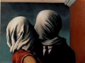 Gli Amanti di René Magritte