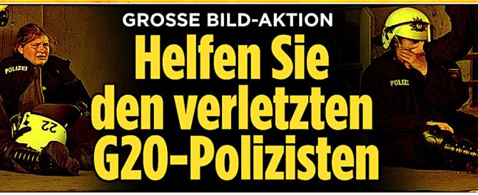 """Amburgo, 51 incriminati per i disordini. Bild: """"Riconoscete questi criminali?"""""""