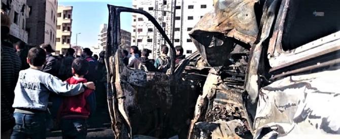 Sconfitti ovunque, gli islamici portano il terrore a Damasco con le autobomba