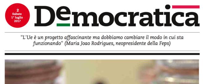 """Renzi rottama pure L'Unità: il nuovo giornale del Pd è """"Democratica"""""""