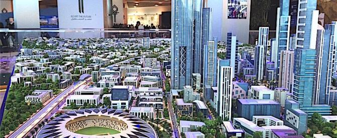 Sta emergendo dalla sabbia la nuova capitale dell'Egitto: pagano i cinesi…