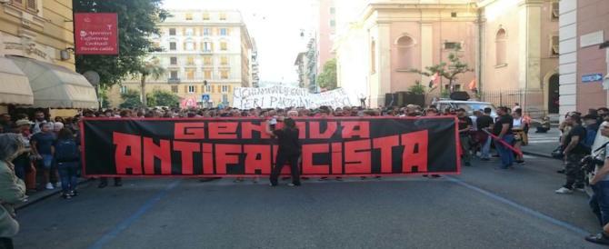 Genova, antifascisti in piazza per i moti del '60 e Bucci apre a CasaPound