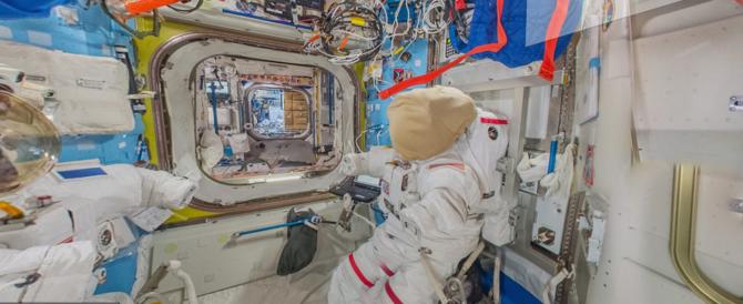 Google ci porta nello spazio: con Street View si potrà visitare l'Iss