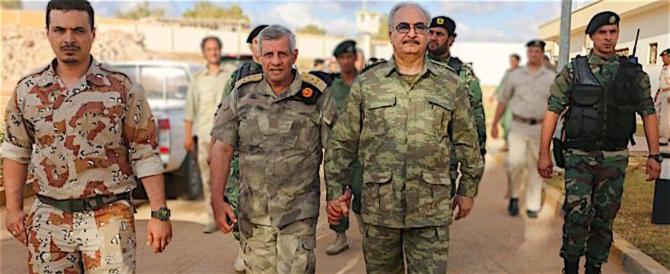 Libia: il generale Haftar, alleato di Putin, caccia i terroristi da Bengasi