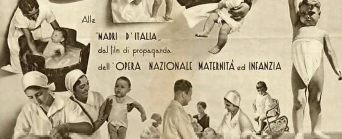 """Renzi vara il dipartimento """"mamme"""". Un'idea copiata a Mussolini, ma non si può dire…"""