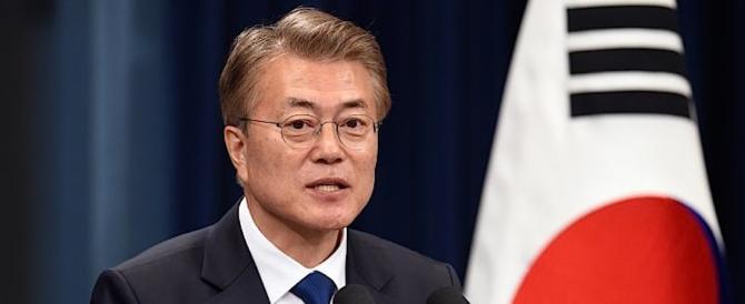 Il sudocoreano Moon l'ultima speranza di Pyongyang di evitare l'attacco Usa