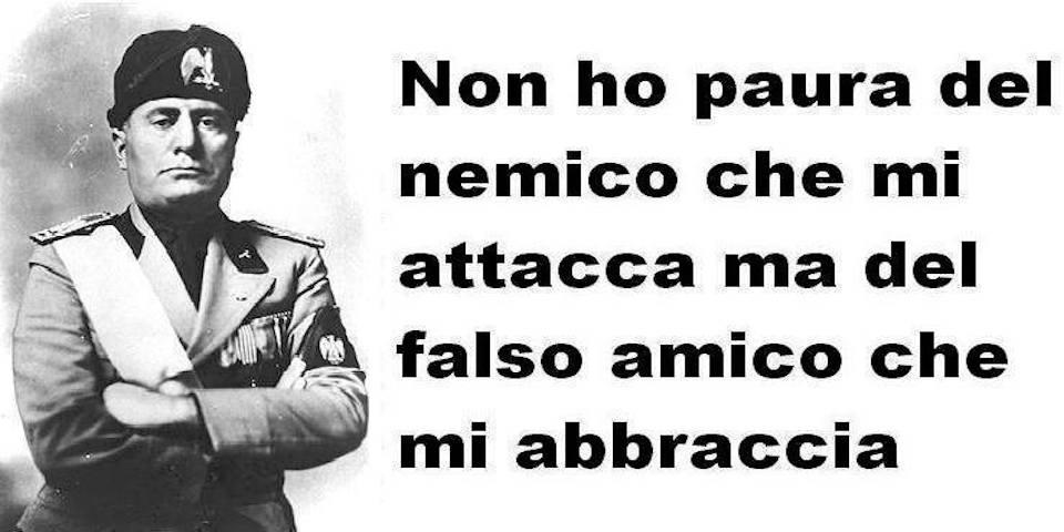 Assessore Del Pd Condivide Su Facebook Una Frase Di Mussolini Poi