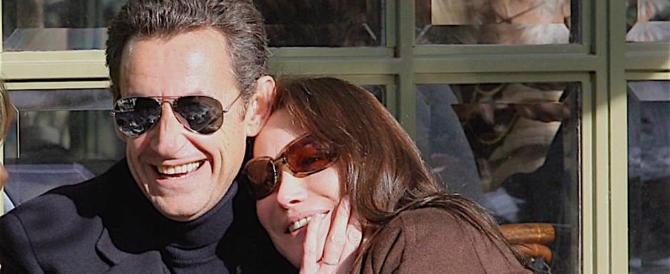 "Cena ""segreta"" tra il presidente Macron e Sarkozy (con mogli)"