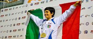 A Silvia Farigu, la medaglia d'argento del Coni al valore atletico
