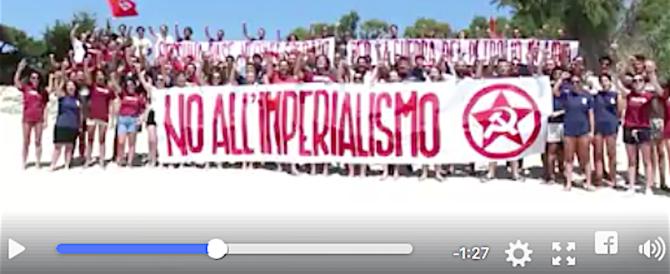 Falce e Secchiello: c'è anche una spiaggia comunista ma nessuno protesta… (video)
