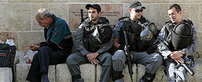 Gerusalemme, controlli drastici. Hamas: la situazione può precipitare