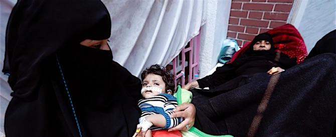 Yemen, colera fuori controllo: 2000 morti, 5000 nuovi casi al giorno