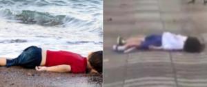 Aylan e il bimbo ucciso dall'Isis. Gasparri contro la doppia morale dei media